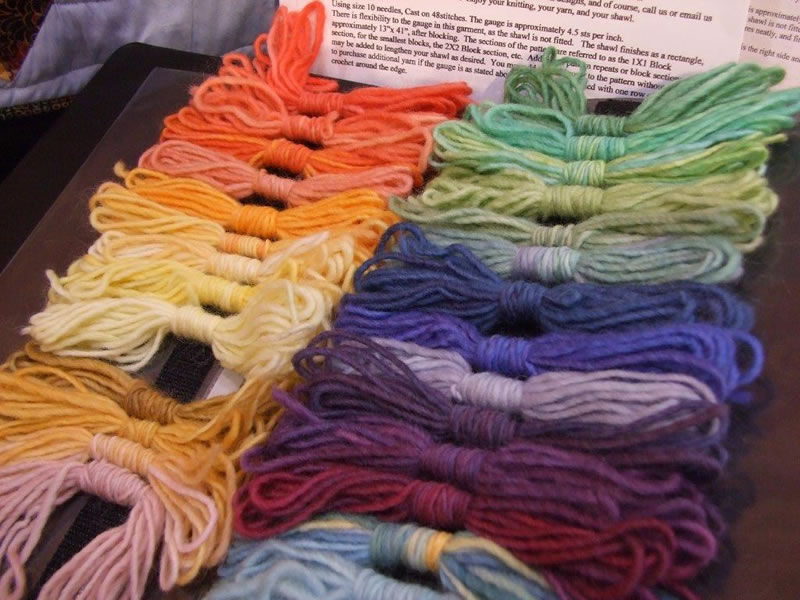 Red Barn Yarn at the Houston International Quilt Market